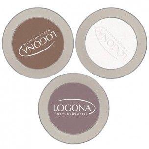 Les fards à paupières Logona sont destiné à un maquillage naturel. Leur formule à base d''huile de Cranberry et d''extrait marin protège votre peau du vieillissement grâce à une action anti-âge et tonifiante.