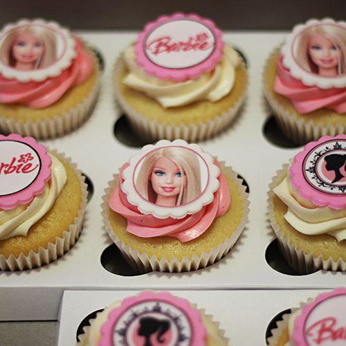 Barbie Cupcakes by Cutie Cakes