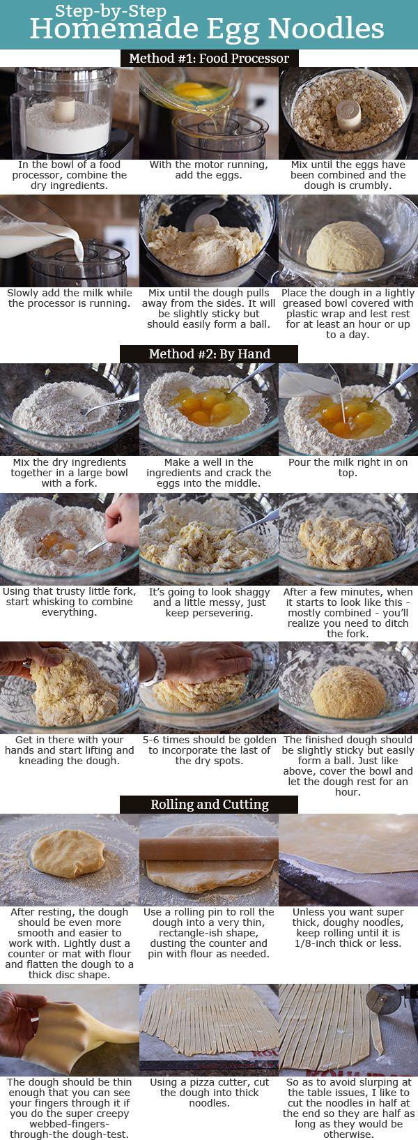 Step-by-Step Homemade Egg Noodles | Mel's Kitchen Cafe