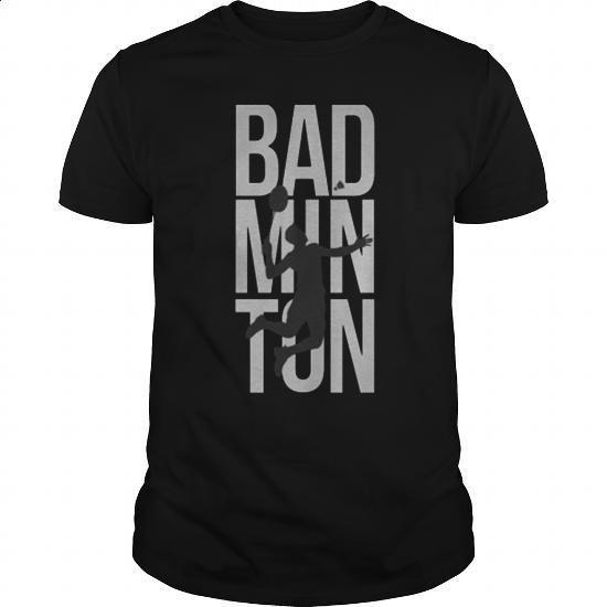 Badminton Tees Jumping Smash - custom tshirts #tee #clothing
