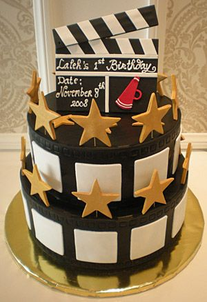 """Hollywood"" It makes me want to have an Oscar party just to serve the cake!"