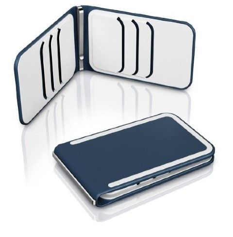 Money clip with added protection. Available in 10 color combinations. #Wallet #Money Clip