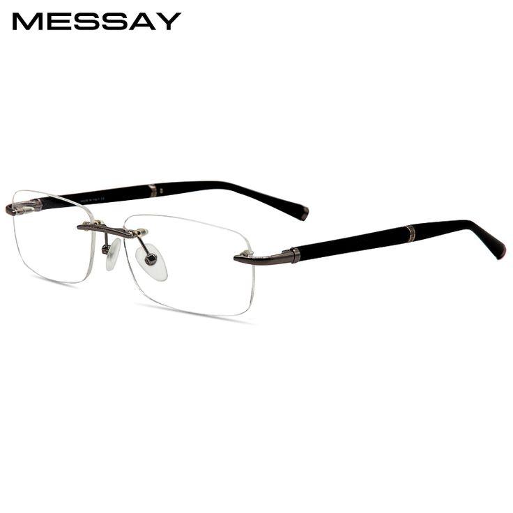 Glasses Frame Rimless Spectacle Eyeglasses Frames Men Optical Frame Rimmed Glass For Prescription Lens. Yesterday's price: US $77.00 (63.67 EUR). Today's price: US $34.65 (28.51 EUR). Discount: 55%.