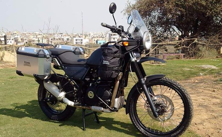Royal Enfield has finally taken the wraps off its 410cc 'Adventure Motorcycle' - Himalayan - at an event held in Delhi today.
