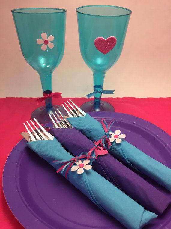 Doc McStuffins Inspired Party Supplies: Doc McStuffins Party Box, (Sets of 10, 12, 15) Flatware, Stemware, Party Plates