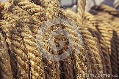 Aged Nautical Ropes - Download From Over 23 Million High Quality Stock Photos, Images, Vectors. Sign up for FREE today. Image: 41112902