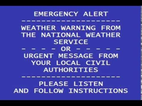 Emergency Alert System: Invasion of the United States - YouTube