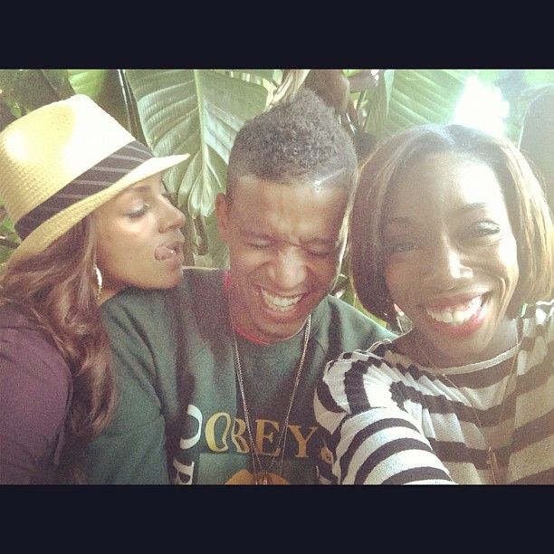 Fun times with faves Estelle and Chef Roble!