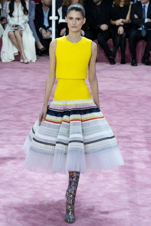Christian Dior - Primavera / Verano 2015 Couture - París (Vogue.co.uk)