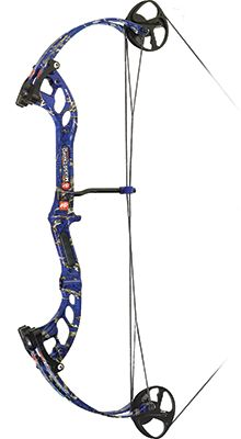 """PRECISION SHOOTING EQUIP 17 Mudd Dawg Right Hand 30""""""""40# DK'd Bowfishing Camo Bow Only, EA"""