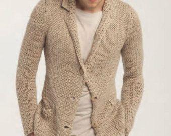 Mano degli uomini maglia maglione girocollo gli di BANDofTAILORS