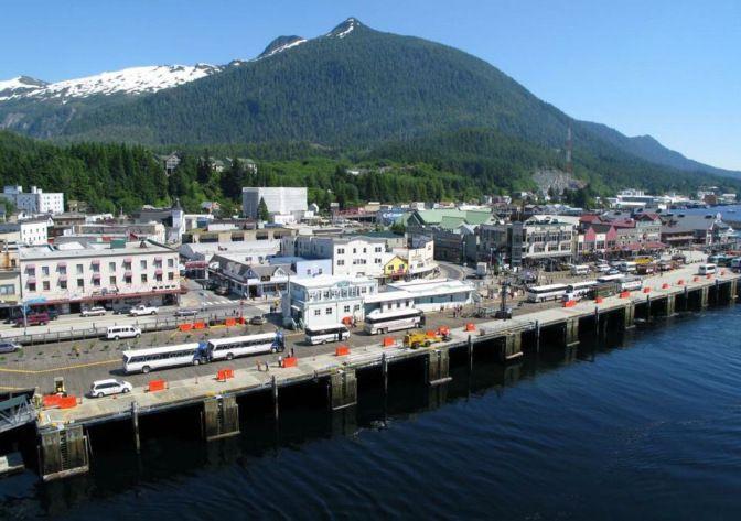 Аляска. Кетчикан — мировая столица лосося. — Блог Виталия Забудько