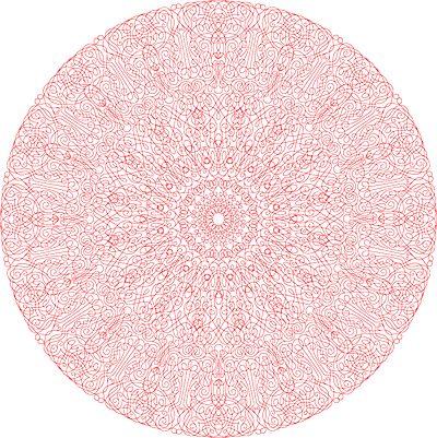 Marian Bantjes: Mandala