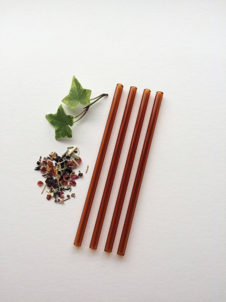 Glass Straws • Reusable Straw • Smoothie Straw • Eco Friendly • A personal favorite from my Etsy shop https://www.etsy.com/ca/listing/560427961/amber-set-of-four-glass-drinking-straws