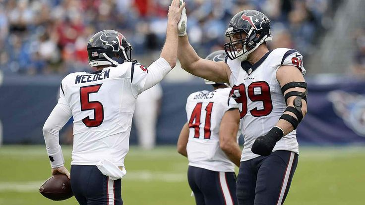 The Texans Pummel The Collapsing Titans 34-6