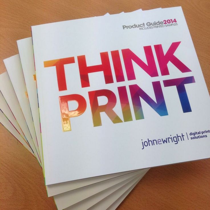 The new 2014 John E Wright #ThinkPrint brochure is out! E-mail tim.foster@johnewright.com for a copy
