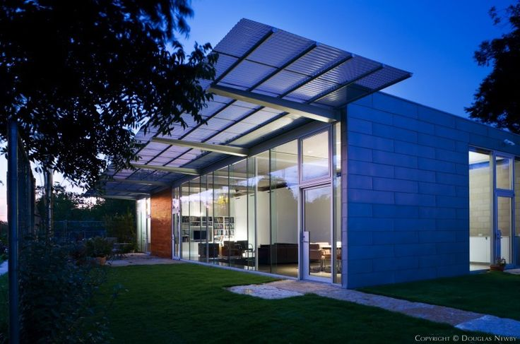 Ron Wommack Designed Modern Home
