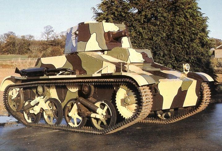 Dutch vickers tanks