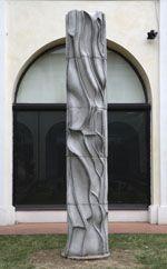 Stele 1986 Carlo Zauli  (photo by Massimiliano Fantini) at MIC Faenza  #carlozauli
