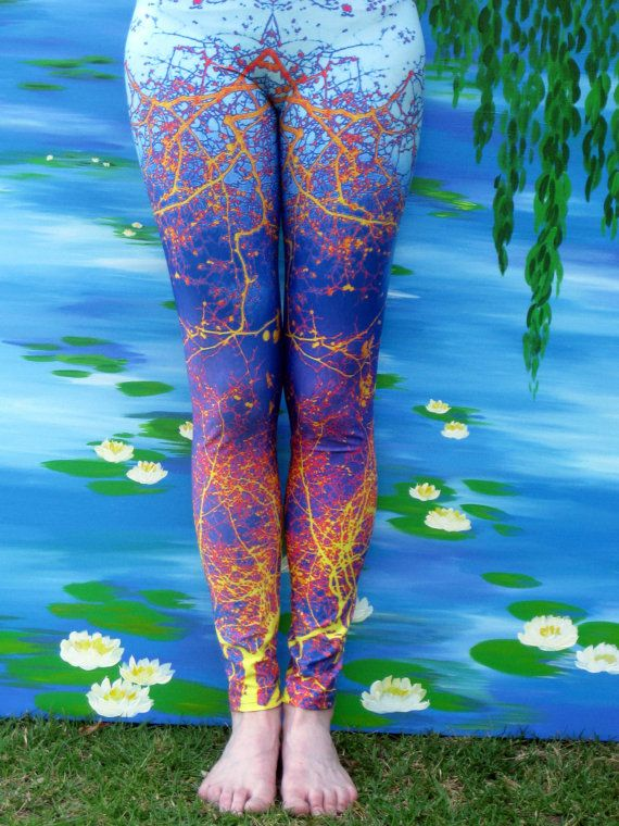 yoga leggings yoga pants leggings leggings for by TheCateEscape