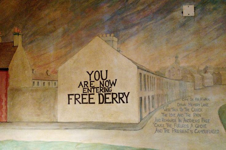 Free Derry, Londonderry, Northern Ireland 2015