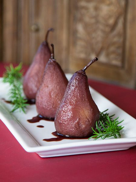 ... 2015, Marsala - Red wine poached pears - Bring Marsala to the table