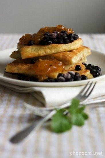 Pannukakku. Traditional Finnish food