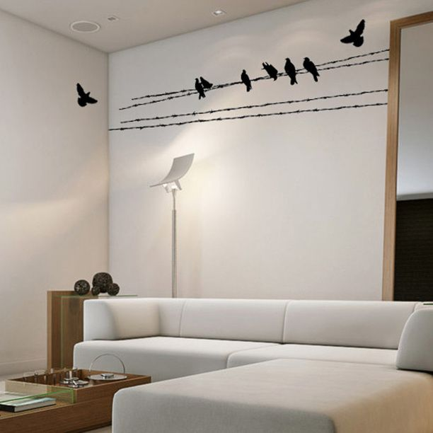 Fly Across Wall Decal