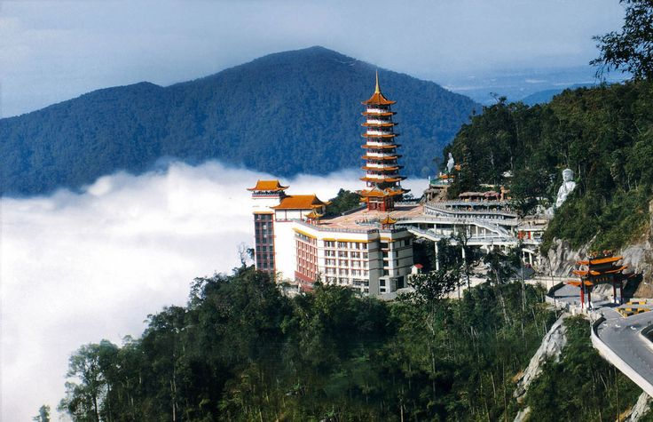 Genting Highlands, Malaysia. Not a lot of clear memories from here but I remember it being so bright, loud, and energetic