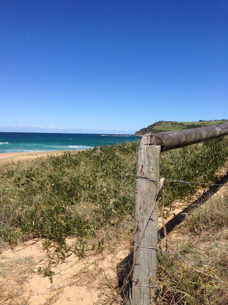 A glimpse of Werri Beach.