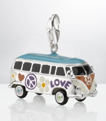 Tomas Sabo Peace Van Charm £179 (These charms are cute but the price is not so cute)  #jewellery #jewelry #charms