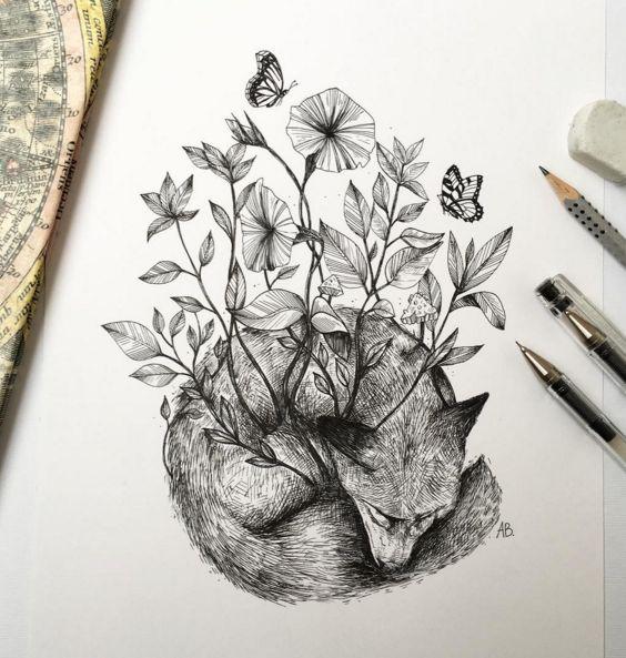 Drawings by Italian Artist Alfred Basha