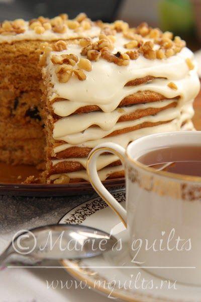 Медовый торт / Honey cake