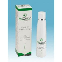Tonic lotion. It returns skin to its natural balance, toning the face and neck to make features that are immediately smoother, more relaxed and redefined, for a moment of genuine pleasure every morning and evening.It draws its effectiveness from the extraordinary action of L-carnosine....http://www.weetooshop.com/en/visage/24-biobotanica-supreme-lc-vitalift-tonic-lotion.html