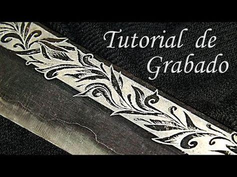 Tutorial de grabado al ácido/aguafuerte | How to make a etched - YouTube