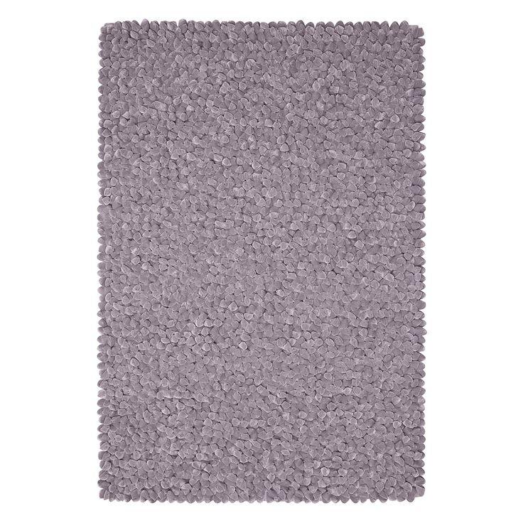 Teppich Sethos - Kunstfaser - Kies - 200 x 300 cm, Morteens