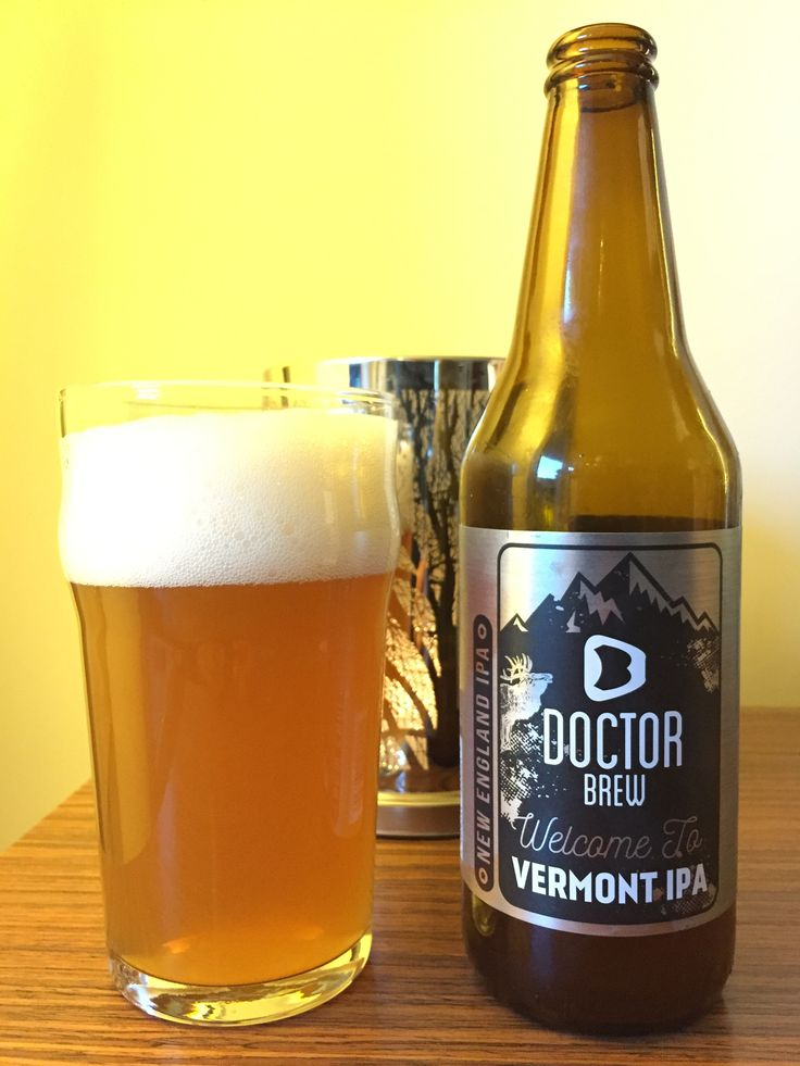 Welcome to Vermont IPA - Doctor Brew, 2018.01.07