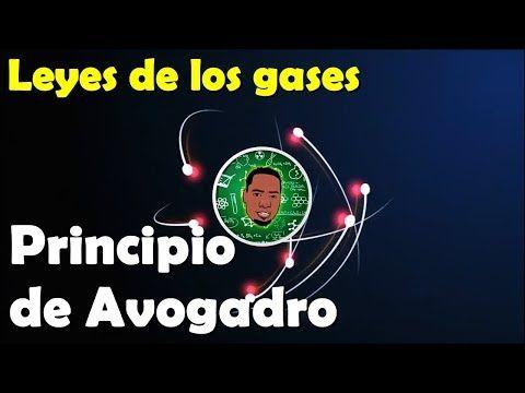 Principio de Avogadro Leyes de los gases #Química #yamilcordoba YouTube