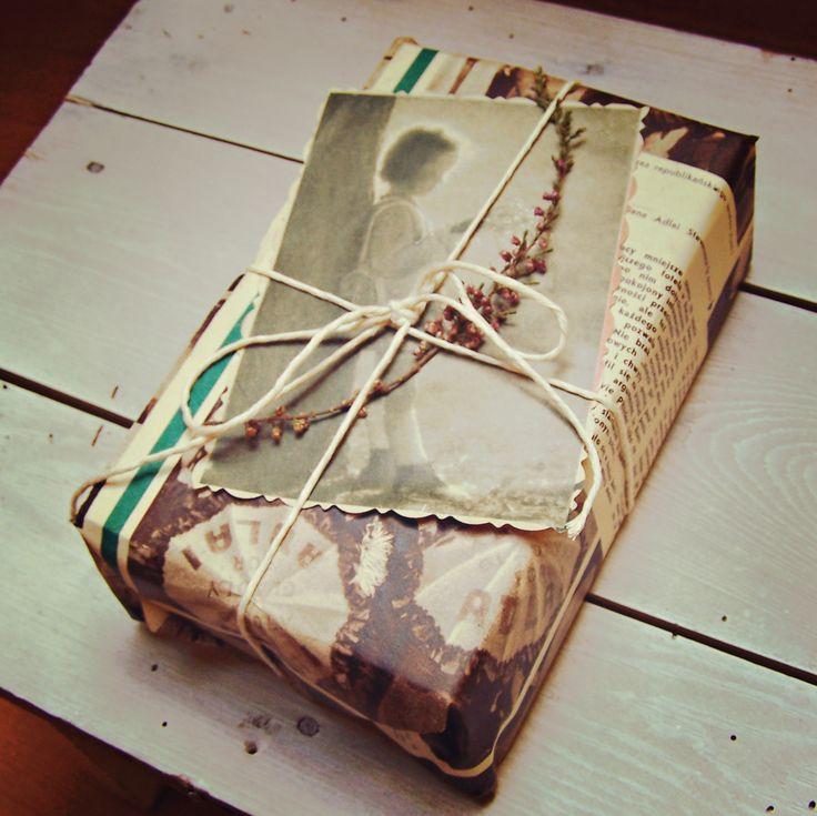Pakowanie prezentów vintage