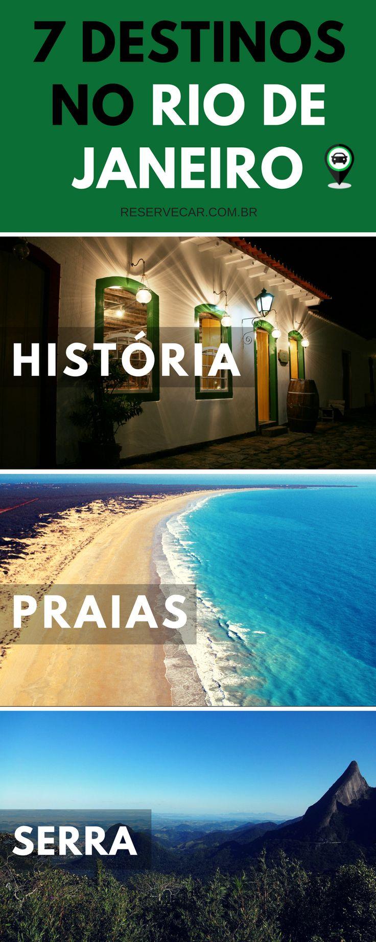 Melhores destinos no Rio de Janeiro para você viajar. Destinos para bate e volta, final de semana, feriado e até férias, saindo de São Paulo ou Rio de Janeiro.