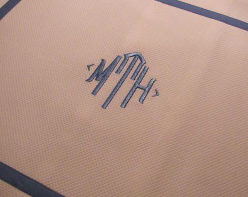 Perfect Blake Monogram Table Linens