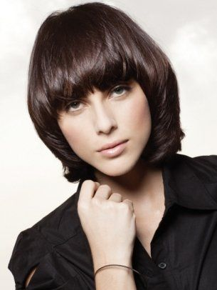 Mid Length Haircuts with Bangs - Mid-length hair is the suit-all length that can make you turn heads without having to spend hours in front of the mirror. Get ready to make a change by opting for the latest mid-length haircuts with bangs.