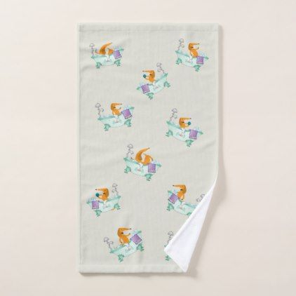 Dachshund Towel Wiener Dog Bathroom Hand Towel - bathroom idea ideas home & living diy cyo bath