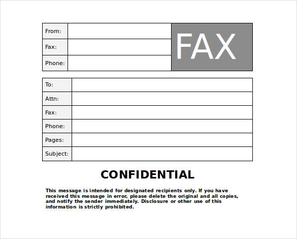 Pin By Fred Way On Fax Cover Fax Cover Sheet Cover Sheet Template Cover Letter Template