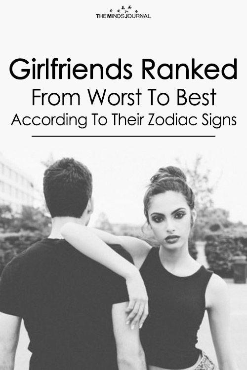 Girlfriends ranked by zodiac