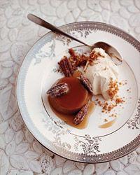 Maple Custards with Sugared Pecans // Great Quick Desserts: http://www.foodandwine.com/slideshows/quick-desserts #foodandwine