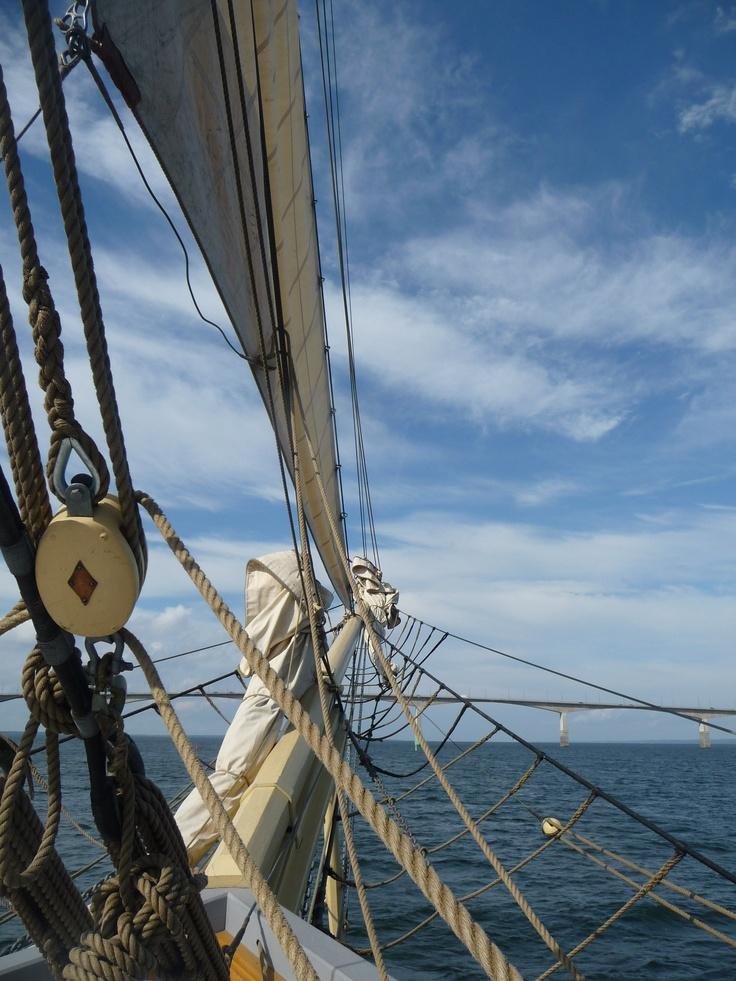 Sailing in Kalmar Sound/Sweden