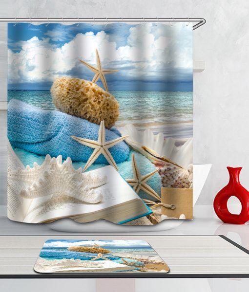 Mais de 1000 ideias sobre salle de bain bord de mer no pinterest - Rideau style bord de mer ...