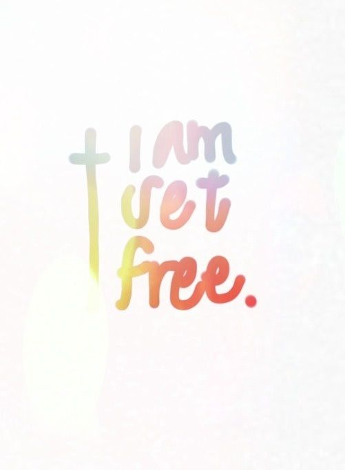 I Am Free Jesus It is for freedom that...