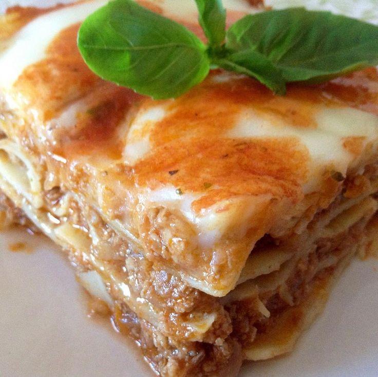 #lasaña de carne  La receta está en el link de la bio y en nuestra app gratuita